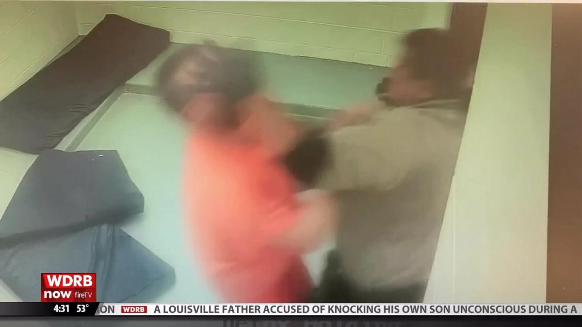 Video shows Bullitt County jail employee punching inmate