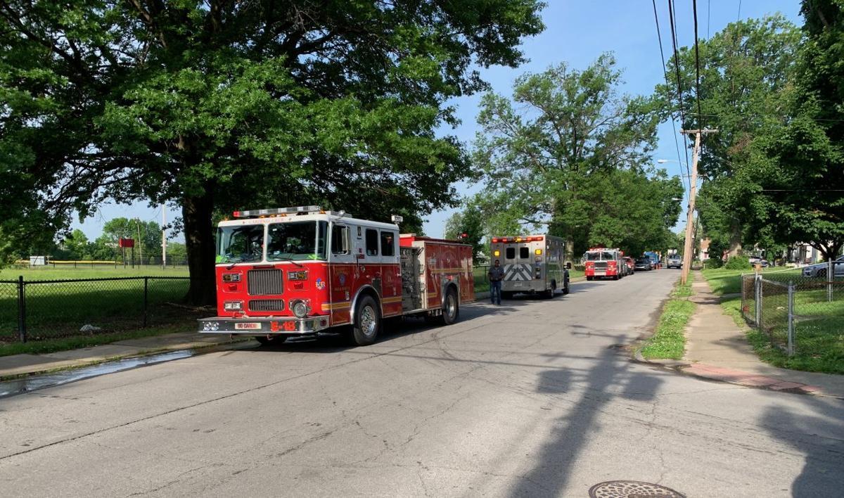 Beecher Street Fire Engine - 5-17-19