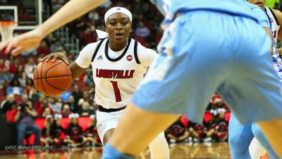 Dana Evans Louisville basketball