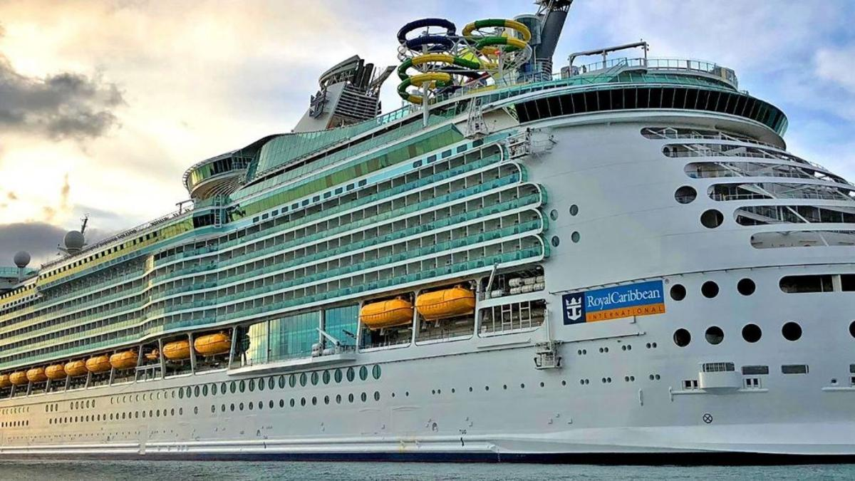 Royal Caribbeans Freedom of the Seas ship from Fox