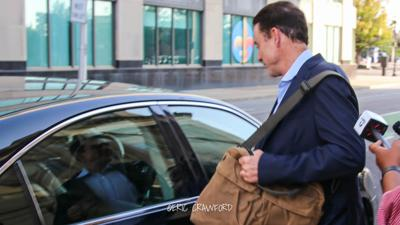 Rick Pitino leaving federal court