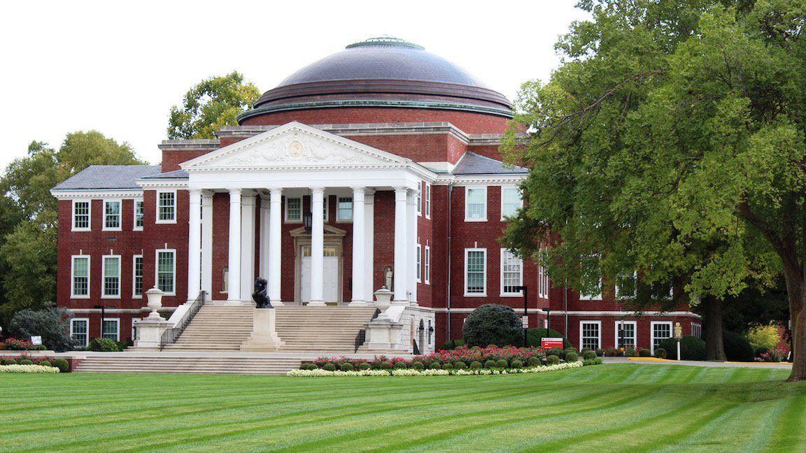 Grawemeyer Hall at University of Louisville