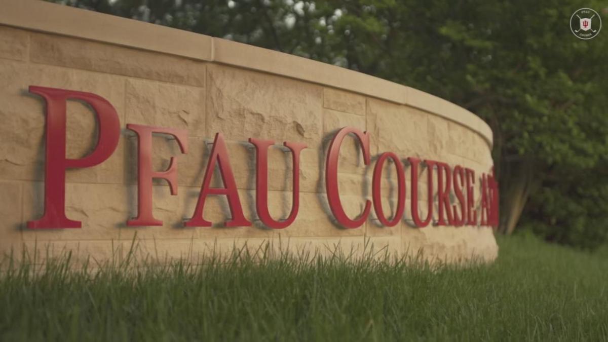 Pfau golf course sign