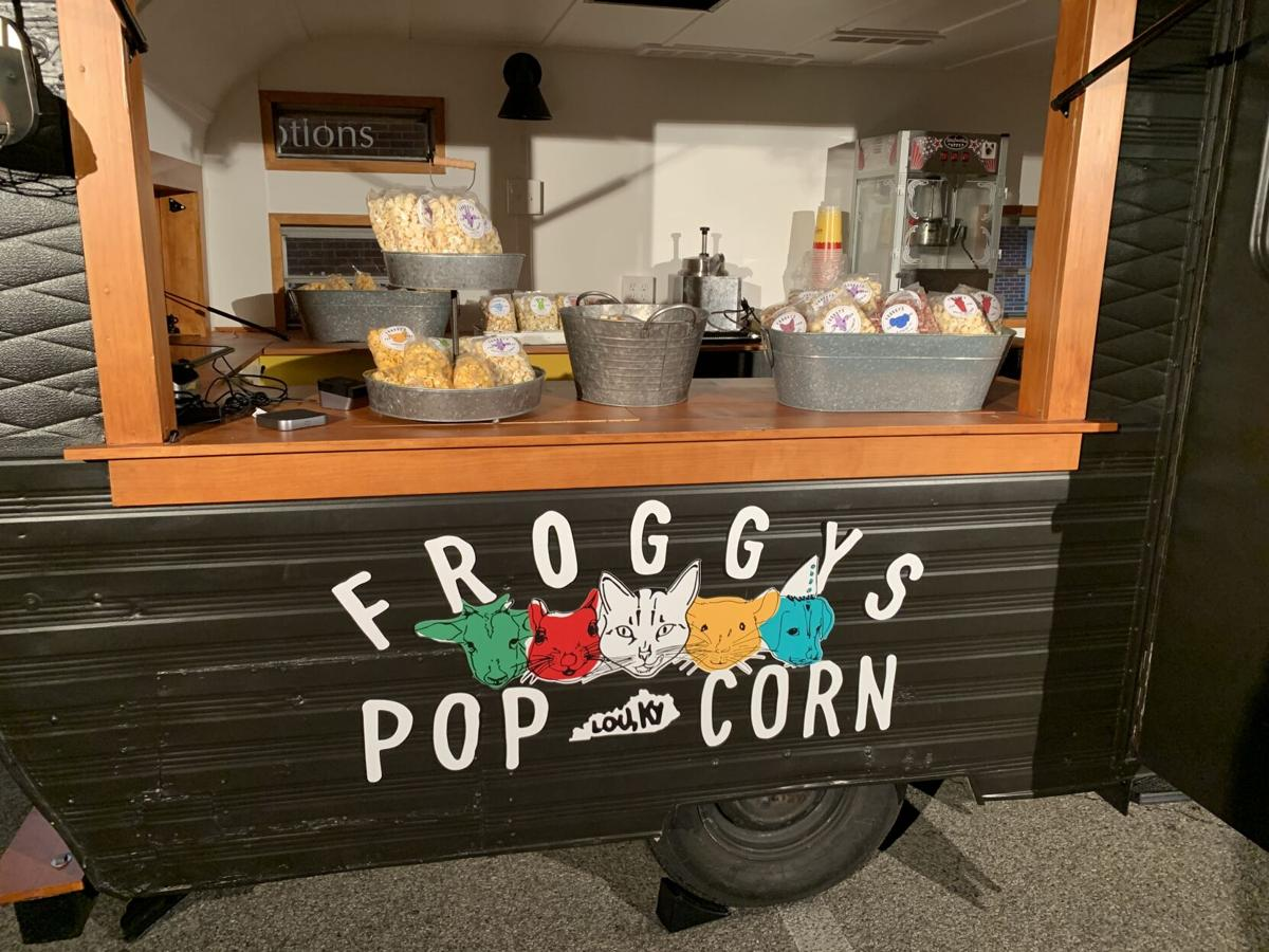 Froggy's Snack Shack Display