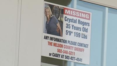 Crystal Rogers Missing Poster