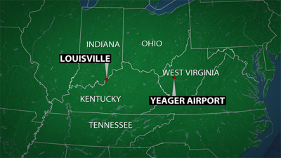 ba7045a970 2 dead after cargo plane contracted by UPS crashes at West Virginia airport