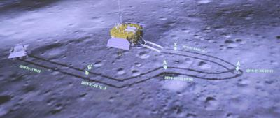 Far Side of Moon from China Probe