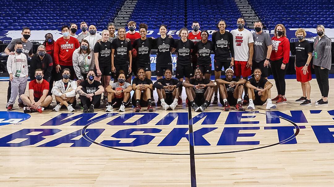 Louisville women team photo