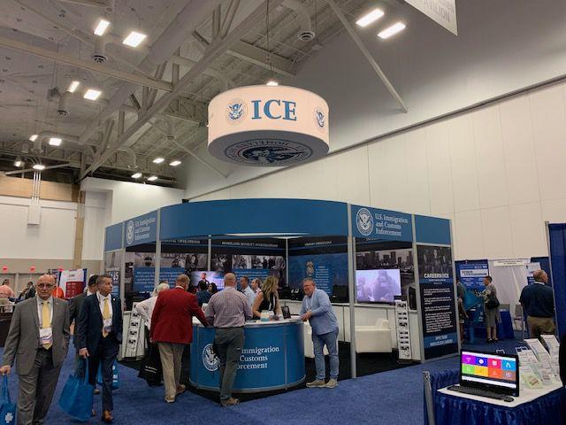 ICE display at National Sheriffs Association