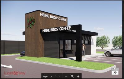 Heine Bros. drive-thru only cafe Fern Creek