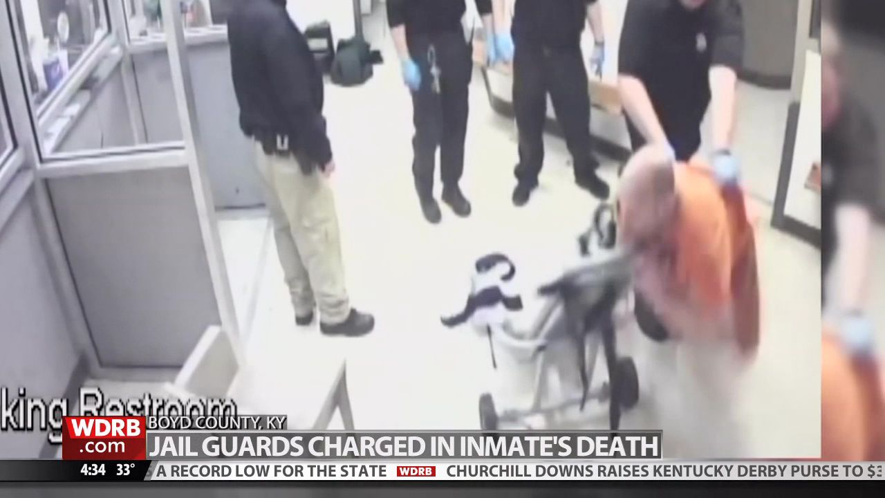 Inmate dies after prosecutors say jail guards slammed him into