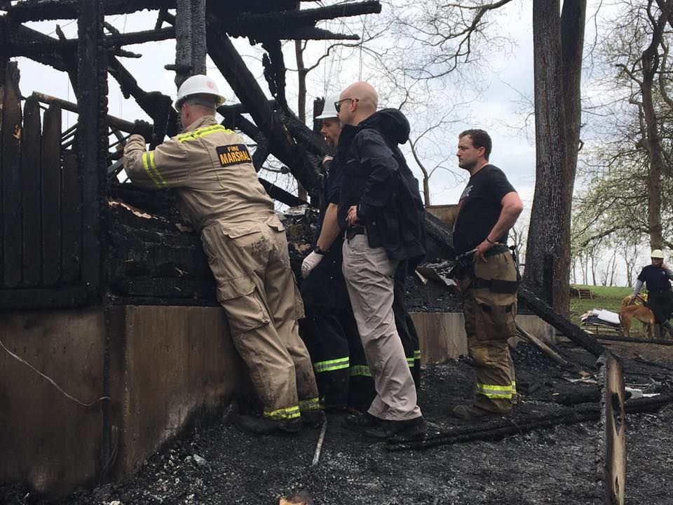 House fire kills 6 in Vevay, Indiana (Switzerland County, Ind.) - March 28, 2020