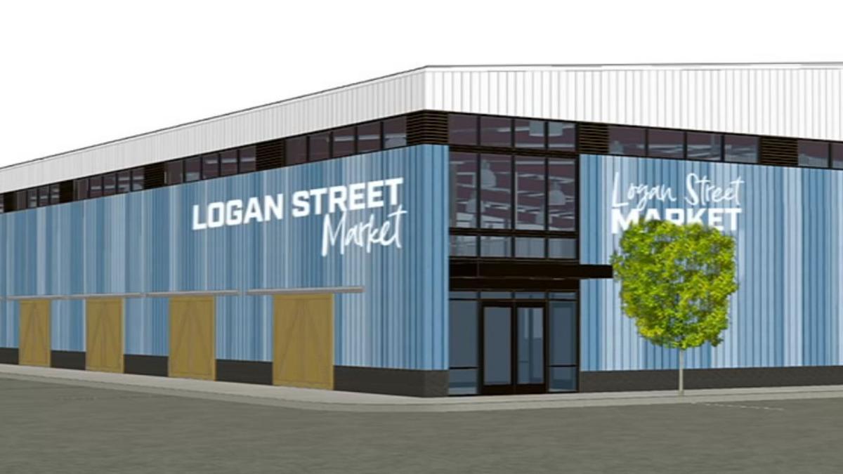 Logan Street Market Rendering