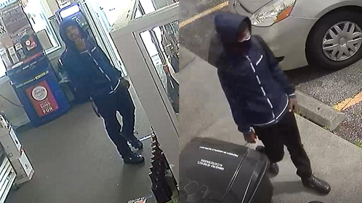 Image of person LMPD says is suspect in Monday, June 7 fatal shooting of liquor store employee on Taylor Boulevard