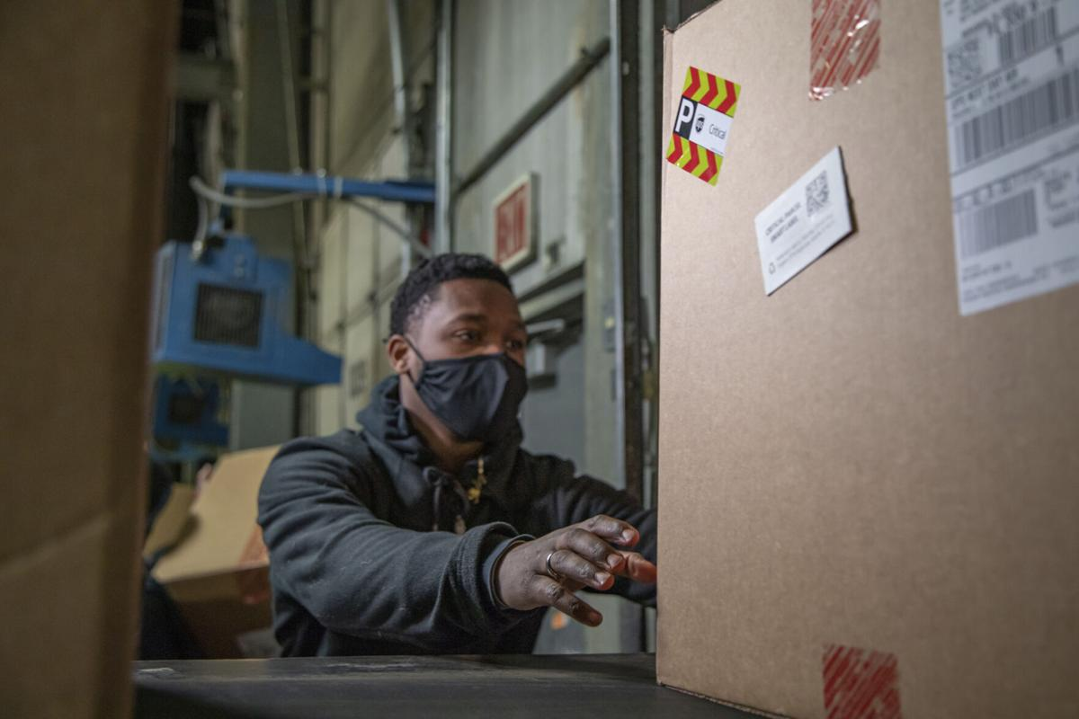 Vaccine Kit Delivered to UPS