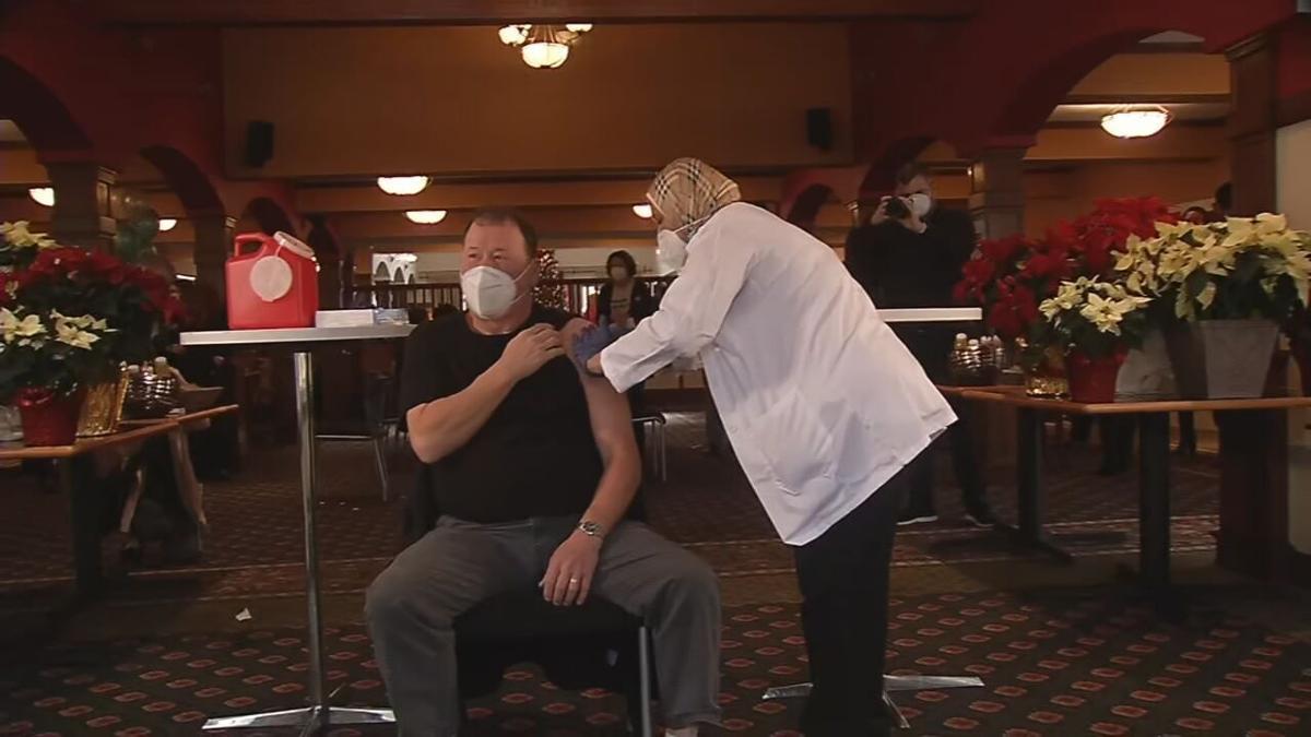 Atria vaccination