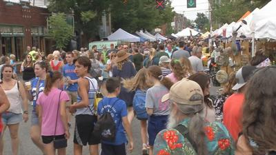 Thousands pack Louisville festivals one year after being