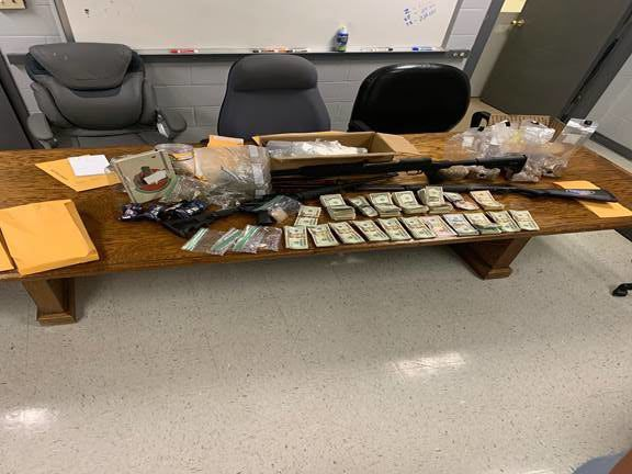 Kentucky State Police confiscate drugs, money and guns in