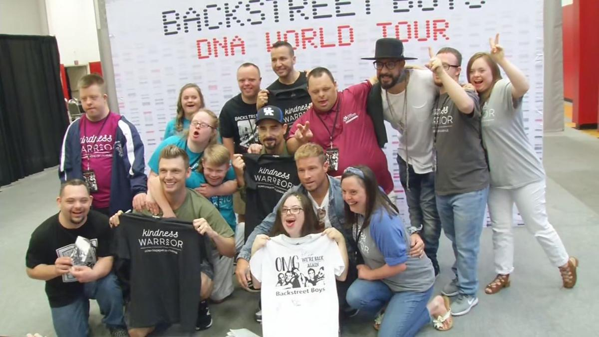 Down Syndrome of Louisville meets the Backstreet Boys