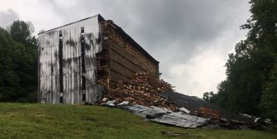 Bourbon warehouse collapses at Bardstown distillery