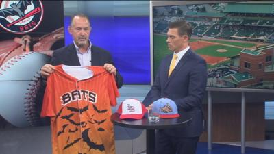 Louisville Bats prepare for 4th of July at Slugger Field