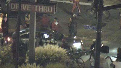 LMPD rioting video Sept. 28, 2020