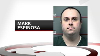 Mark Espinosa Mug Shot on Background