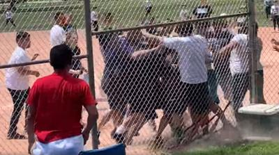 Fight at Colorado Little League game, June 2019