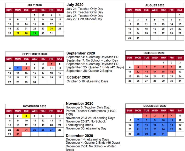 Greater Clark County Schools Calendar 2021-2022 Pictures