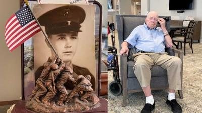 Lexington World War II veteran Paul Frederick
