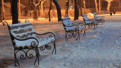 Accumulating Snow Creates Weekend Hazards