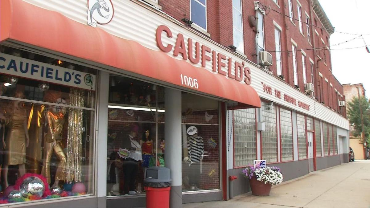 Caufield's Novelty selling its building on West Main Street