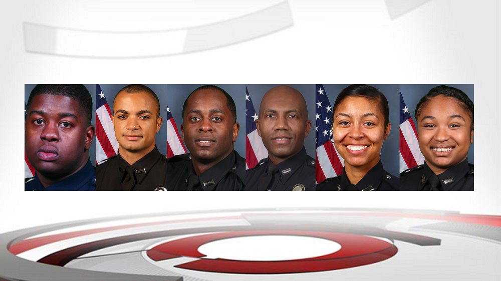 Indicted LMPD officers 5-13-19
