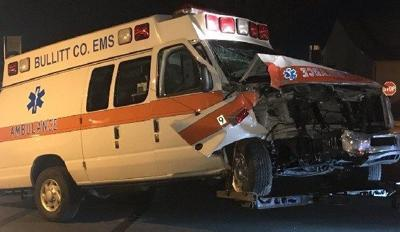 LMPD searching for suspect after stolen ambulance crashes at Home of the Innocents