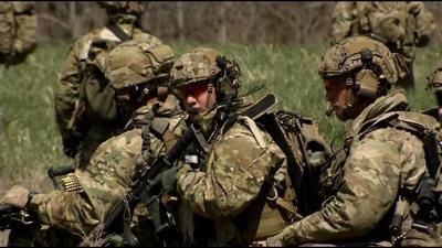 Rangers train for 20th deployment to Afghanistan at Fort Knox
