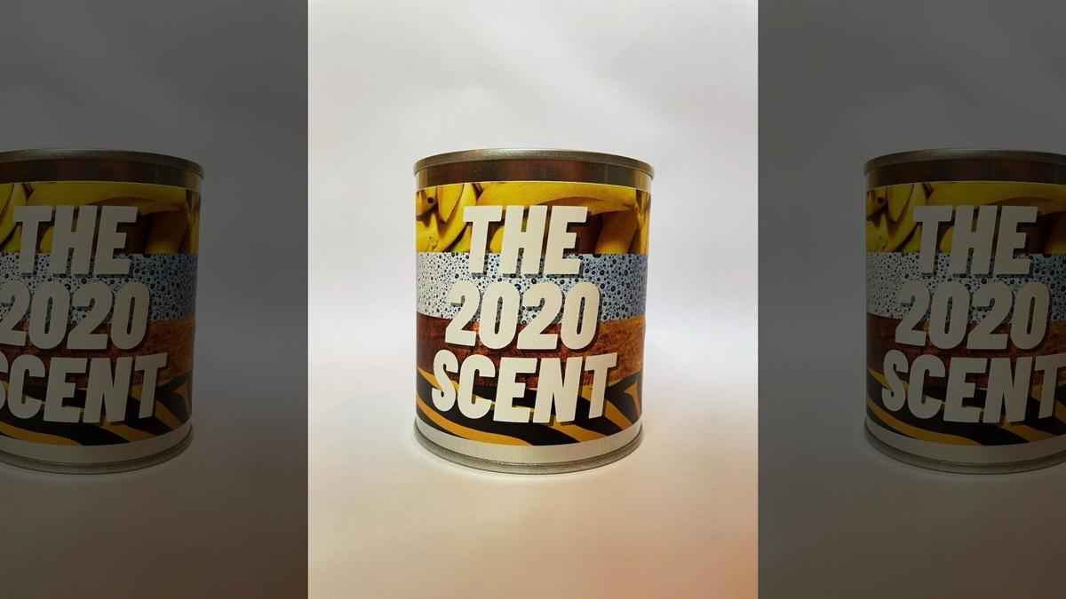 Flaming crap 2020 candle