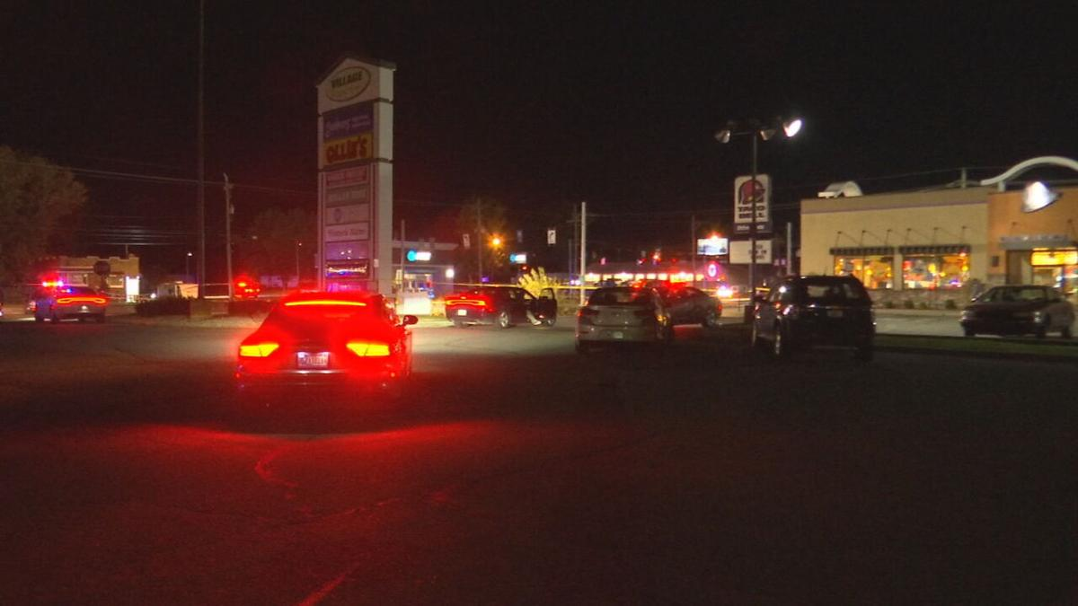 Seymour Police Shooting Scene