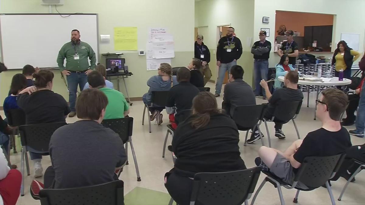Veterans Club members visit Down Syndrome of Louisville (Nov. 12, 2019)
