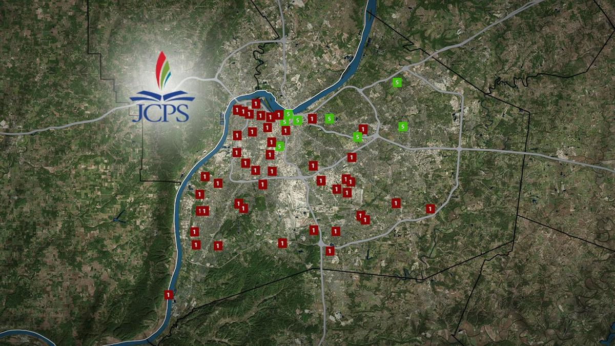 JCPS Map