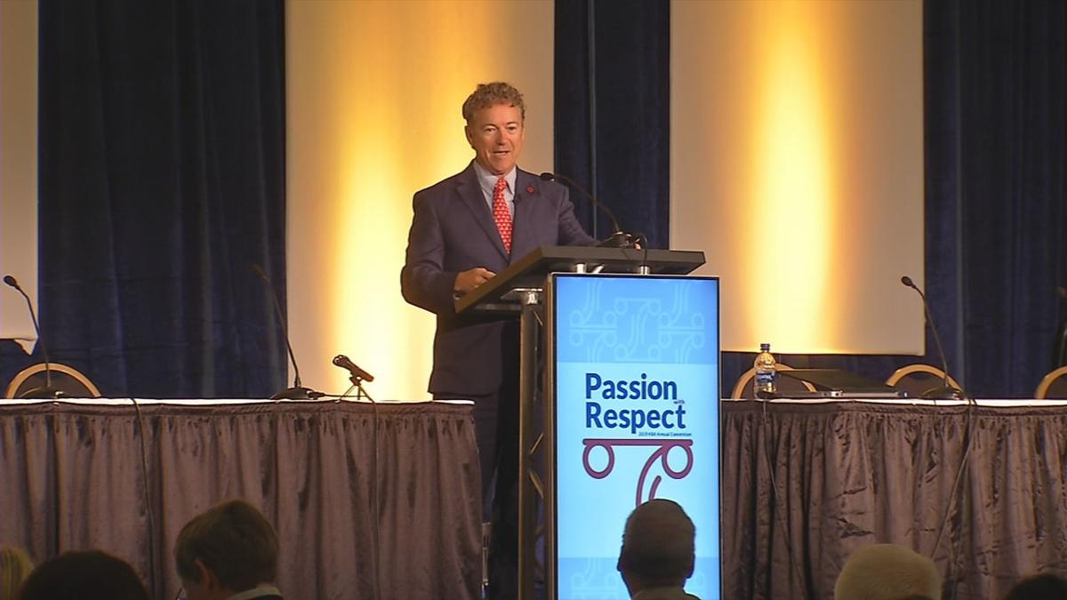 Rand Paul at Ky. Bar Association