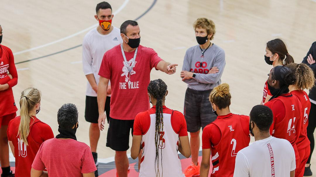Jeff Walz with team