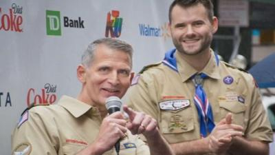 Openly gay man still denied leadership role with Boy Scouts after ban is lifted