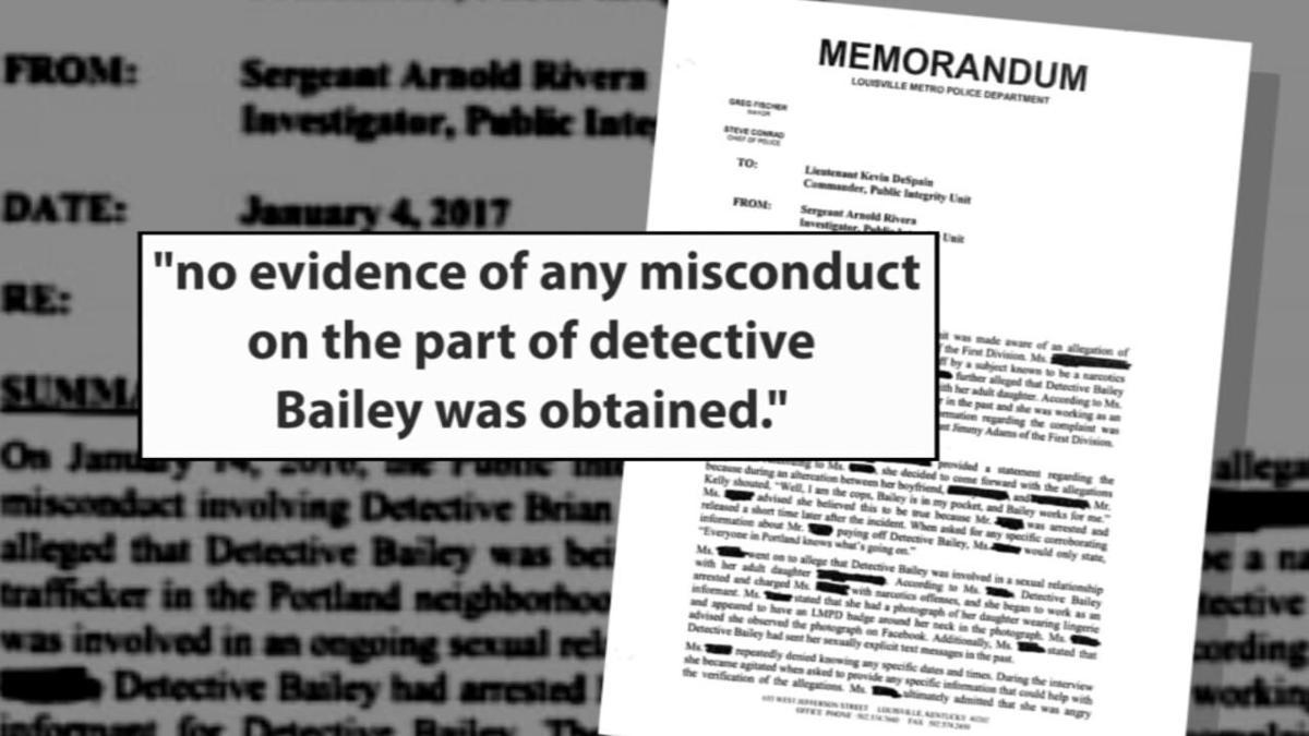 Brian Bailey investigation