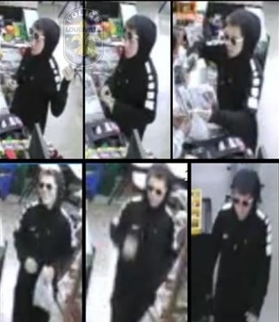 Shady Park Key Market robbery surveillance photo