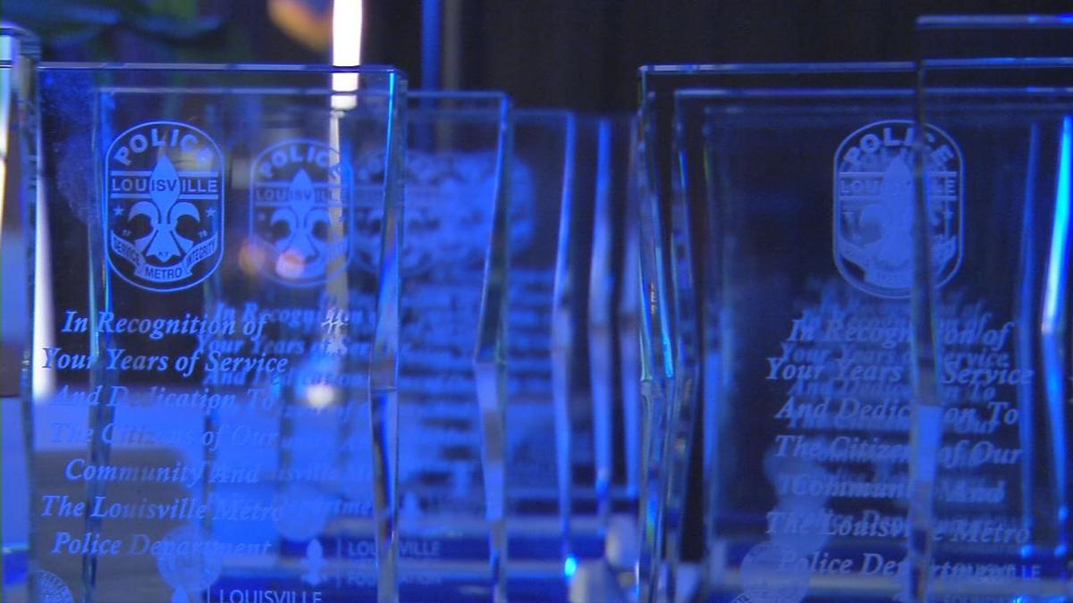 Fallen LMPD detective posthumously honored at annual awards ceremony