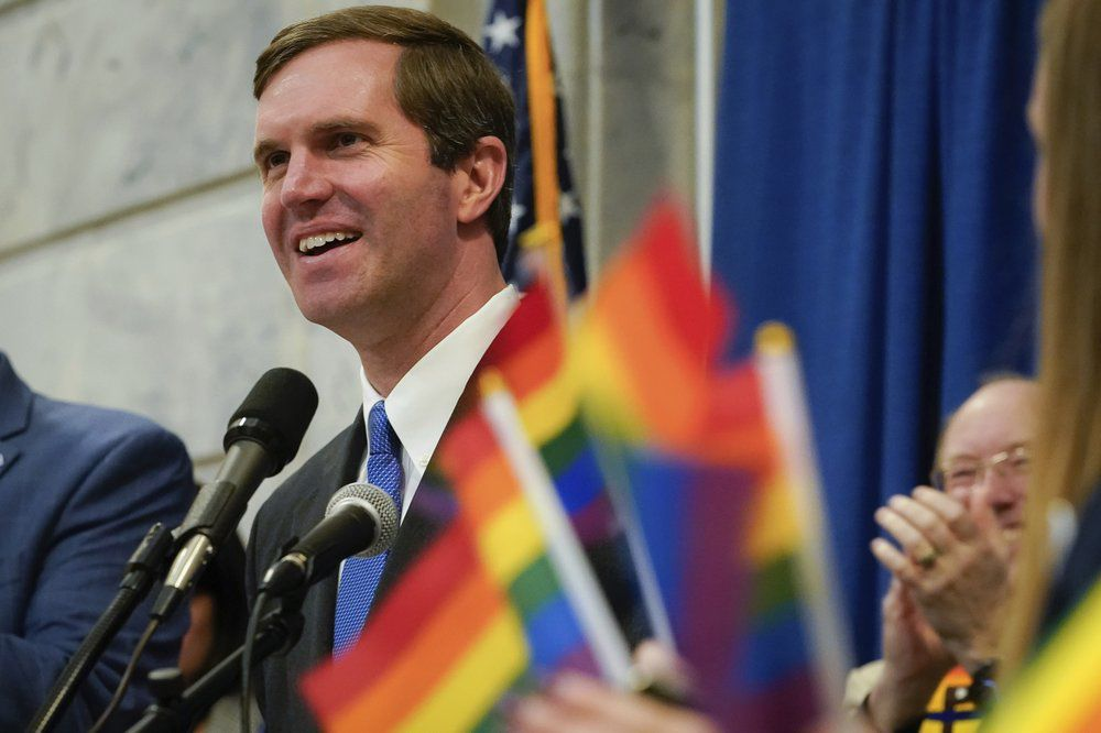 Beshear at Fairness Campaign Rally