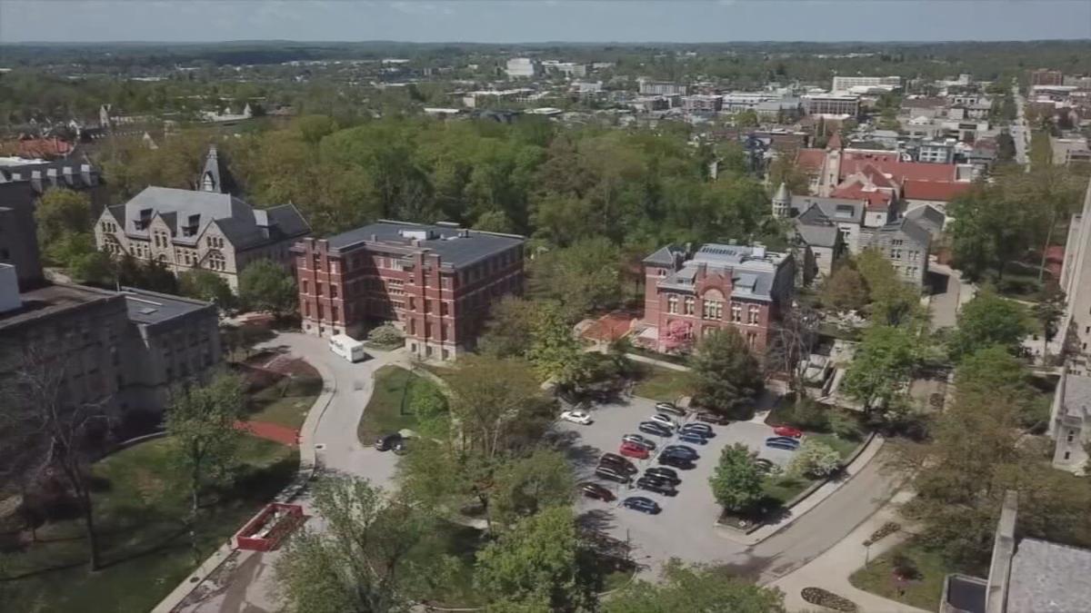 IU Bloomington Campus - Aerial