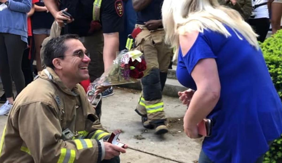 Engagement picture from Manual HS fire drill (4-26-19)