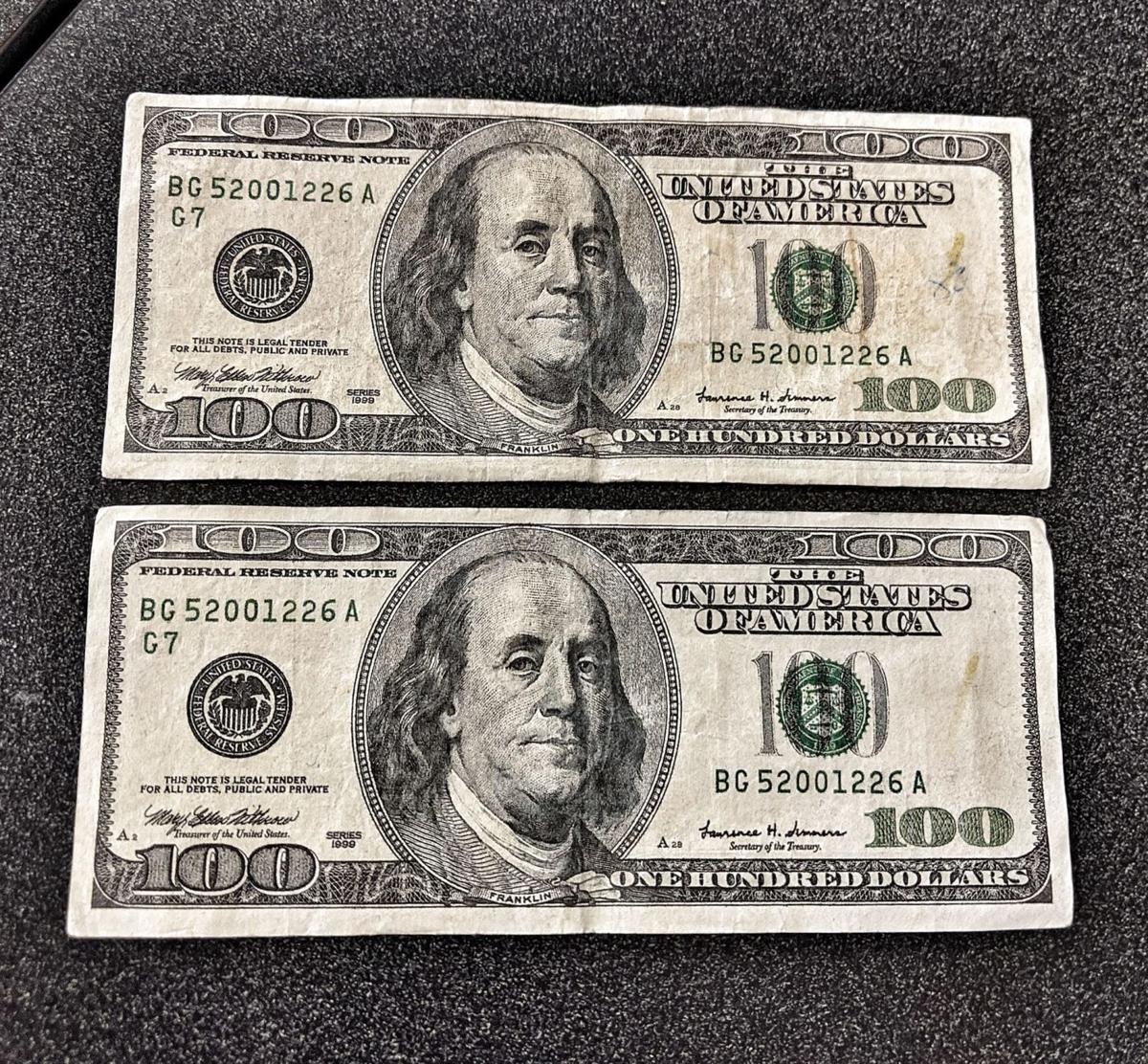 Seymour, Indiana, counterfeit money