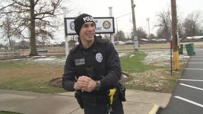 Hillview Officer sees snow